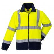 Bluza polarowa ostrzegawcza trudnopalna i antystatyczna Portwest FR31