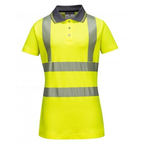 Damska koszulka ostrzegawcza Portwest POLO LW72