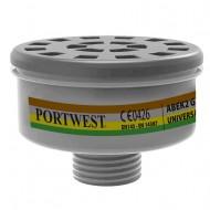 Karton (4 szt.) Filtr gazowy uniwesalny ABEK2 Portwest P926