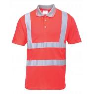 Koszulka ostrzegawcza Portwest POLO Czerwona S477