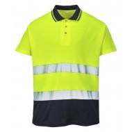 Koszulka polo dwukolorowa Portwest COTTON COMFORT S174
