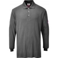 Koszulka polo z długimi rękawami trudnopalna antystatyczna Portwest FR10