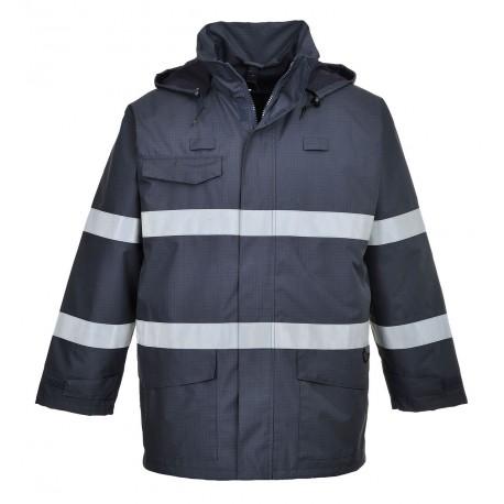 Kurtka trudnopalna Portwest BIZFLAME RAIN MULTI-PROTECTION S770