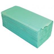 Ręcznik papierowy ZZ zielony KARTON