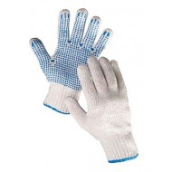 Rękawice nakrapiane PCV
