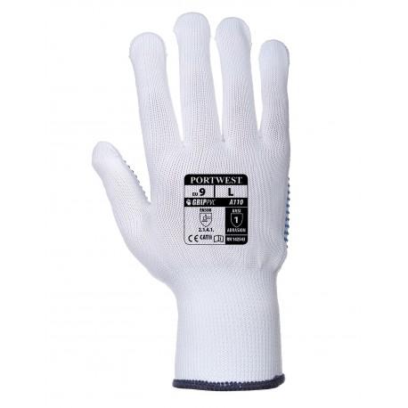 Rękawice nylonowe nakrapiane Portwest POLKA A110