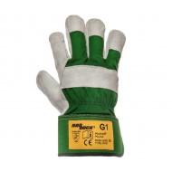Rękawice skórzane Polstar HADDOCK G1 Zielone RHG1