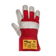Rękawice skórzane Polstar HADDOCK R1 Czerwone RHR1