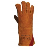 Rękawice spawalnicze ze wzmocnieniem Portwest A530