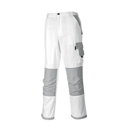 Spodnie do pasa białe Portwest CRAFT KS54