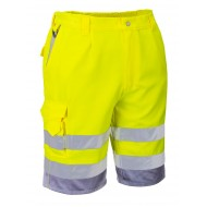 Spodnie krótkie odblaskowe Portwest E043