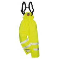 Spodnie nieocieplane ostrzegawcze trudnopalne antyelektrostatyczne Portwest BIZFLAME S780