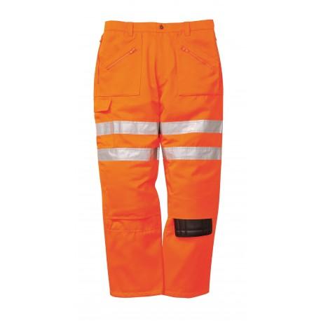 Spodnie odblaskowe bojówki kolejarskie Portwest RT47