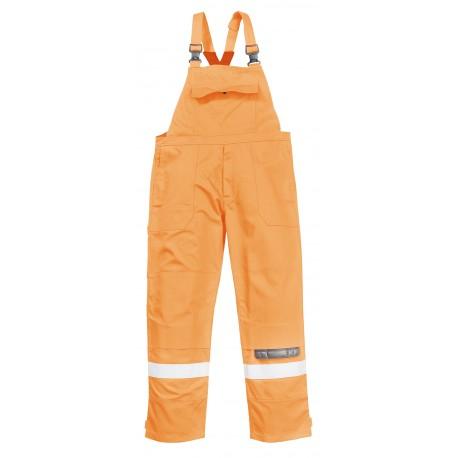 Spodnie ogrodniczki trudnpalne Portwest BIZFLAME PLUS FR27
