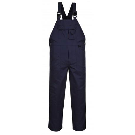 Spodnie ogrodniczki z 9 kieszeniami Portwest C876