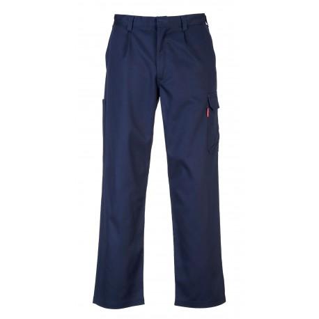 Spodnie trudnopalne z kieszeniami na nogawkach Portwest BIZWELD CARGO BZ31