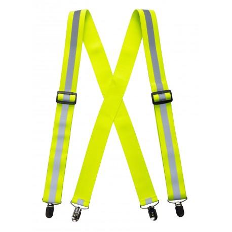 Szelki do spodni w kolorze ostrzegawczym Portwest HV56
