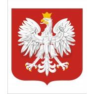 Tablica Godło polskie 43x51