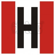 Tablica Hydrant zewnętrzny 25x25