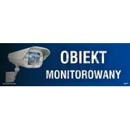 Tablica Obiekt monitorowany 10x30