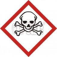 Tablica Produkt bardzo toksyczny 10x10
