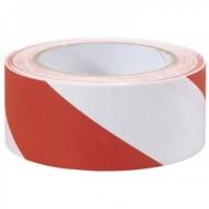 Taśma odgrodzeniowa 500 biało-czerwona