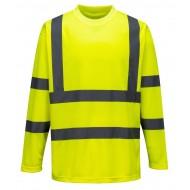 T-shirt ostrzegawczy długi rękawami Portwest S178