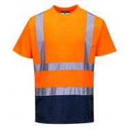 T-shirt ostrzegawczy dwukolorowy Portwest S378