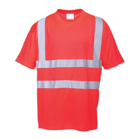 T-shirt ostrzegawczy Portwest S478 Red