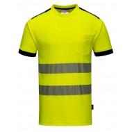 T-Shirt ostrzegawczy Portwest VISION T181