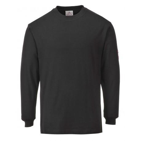 T-shirt z długimi rękawami antystatyczny trudnopalny Portwest FR11