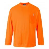 T-shirt z długimi rękawami Portwest DAY-VIS S579