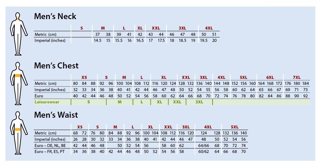 tabela-razmiarów-portwest-1